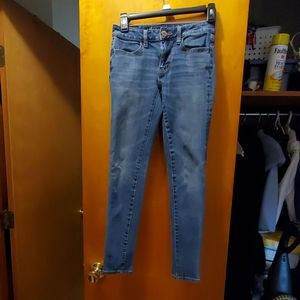 American Eagle Super Strech Skinny Jean's